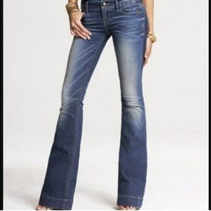EXPRESS STELLA fit & flare jeans💙